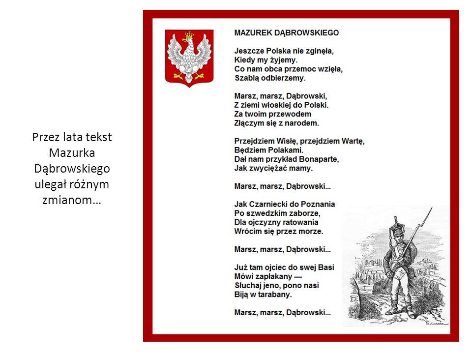 Polski hymn narodowy stał się protoplastą dla innych słowiańskich hymnów i pieśni.
