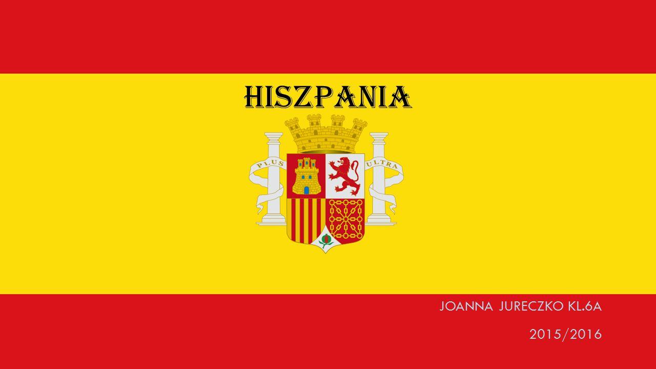 HISZPANIA JOANNA JURECZKO KL.6A 2015/2016