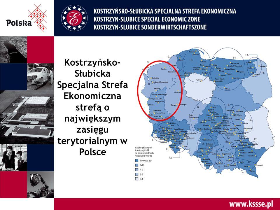 Jedna z największych Stref w Polsce  Podstrefy: 44  Powierzchnia: 1868 ha Źródło: Raport KPMG 2015