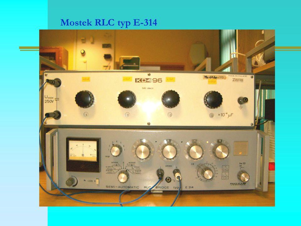 Mostek RLC typ E-314