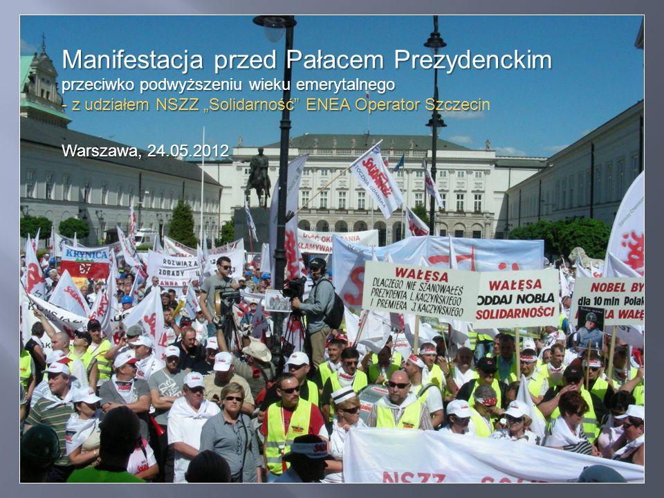 """Grupa """"energetyczna ze Szczecina - czyli nasi! Chwila przed wymarszem …"""