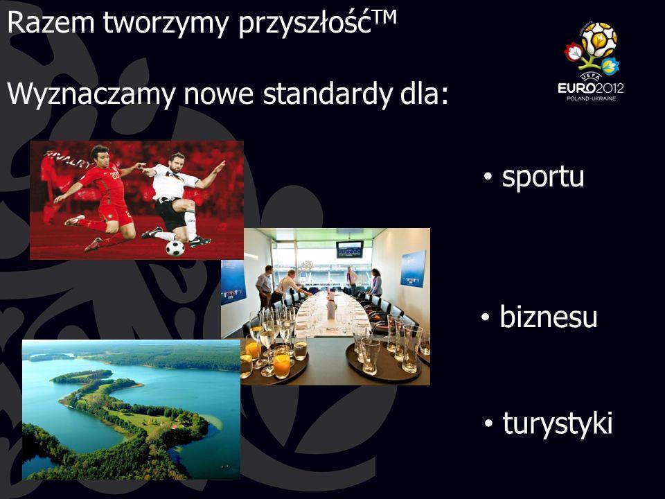 Razem tworzymy przyszłość TM Wyznaczamy nowe standardy dla: biznesu turystyki sportu