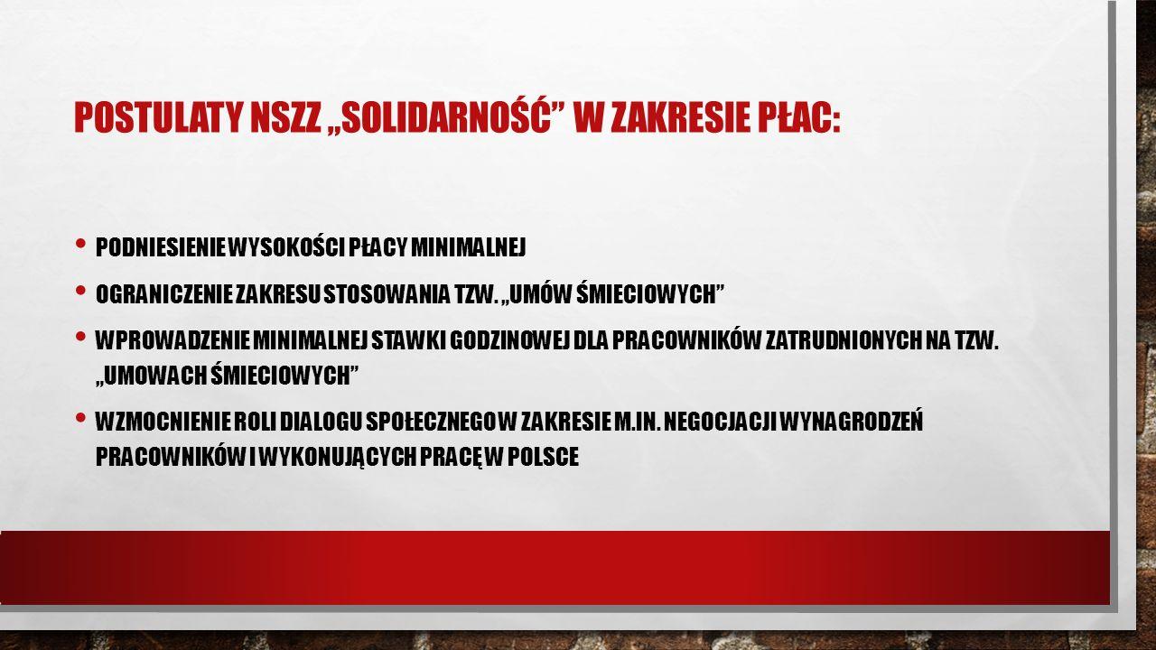 PŁACA MINIMALNA W POLSCE: USTAWA Z DN.