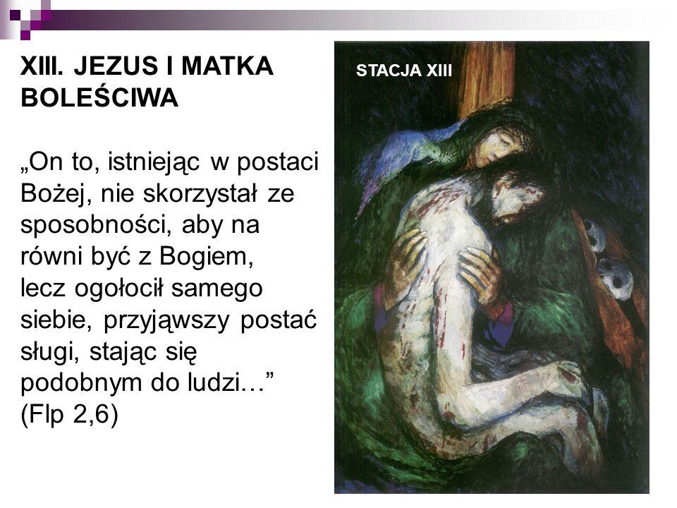STACJA XIII XIII.