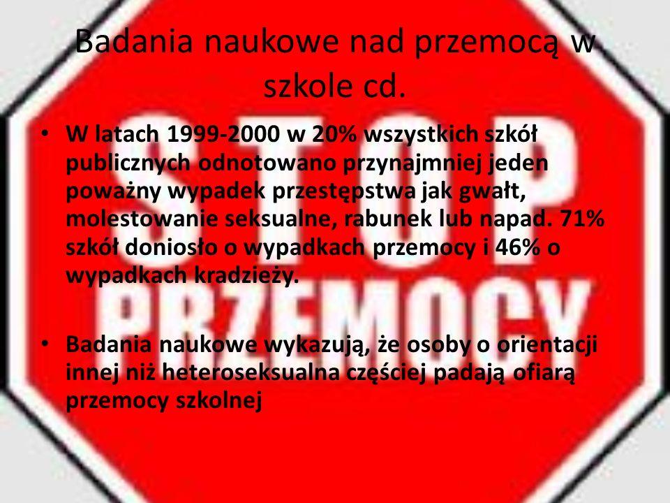 """""""Zero tolerancji W 2006 Roman Giertych (minister edukacji od 5 maja 2006 do 13 sierpnia 2007) złożył projekt ustawy pt."""