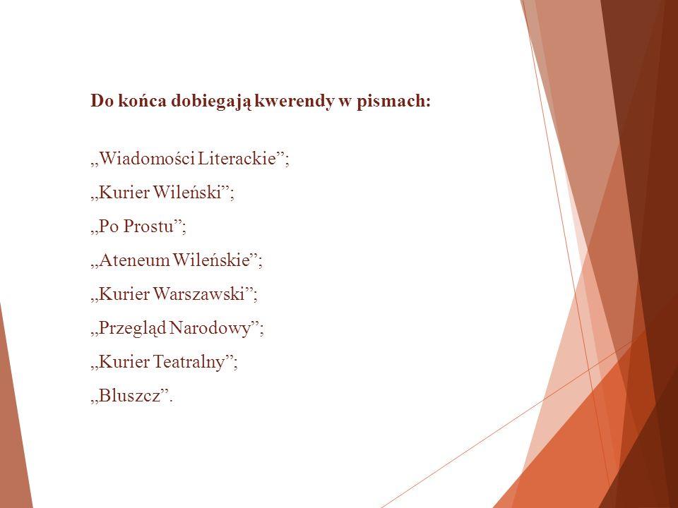 Przykładowe hasła przedmiotowe: Rosjanie a Polacy 1917-1941 r.