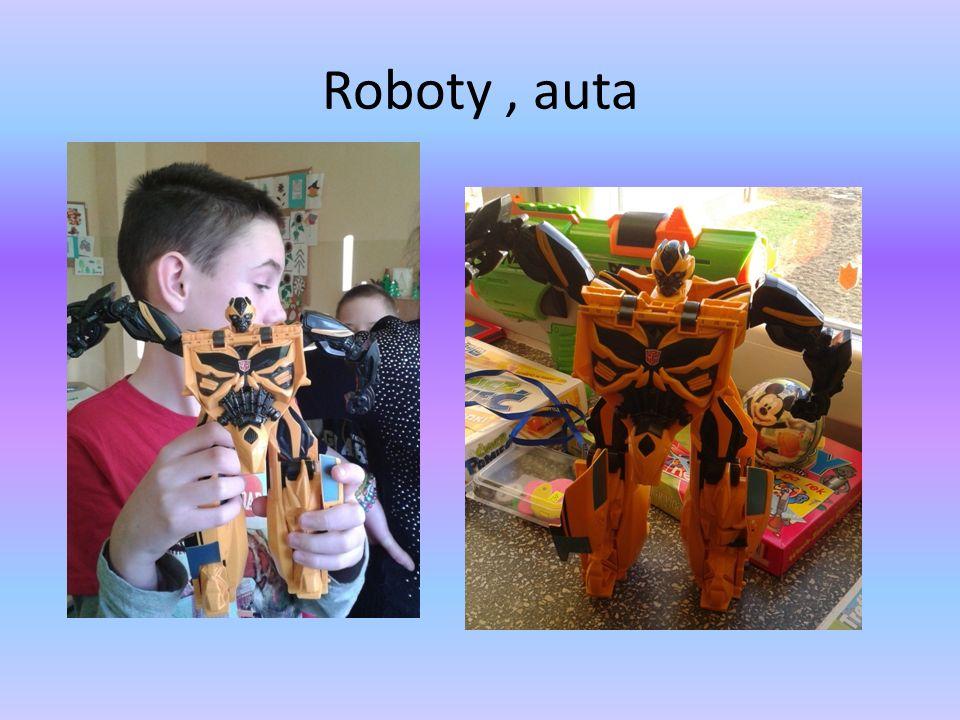 Roboty, auta
