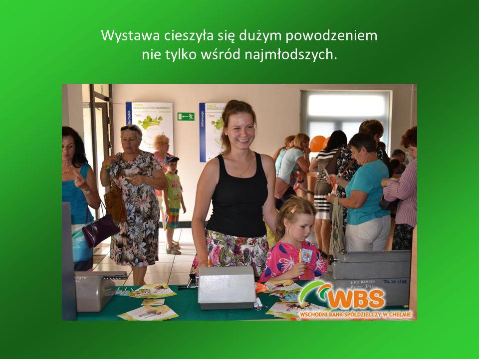 Wystawa cieszyła się dużym powodzeniem nie tylko wśród najmłodszych.