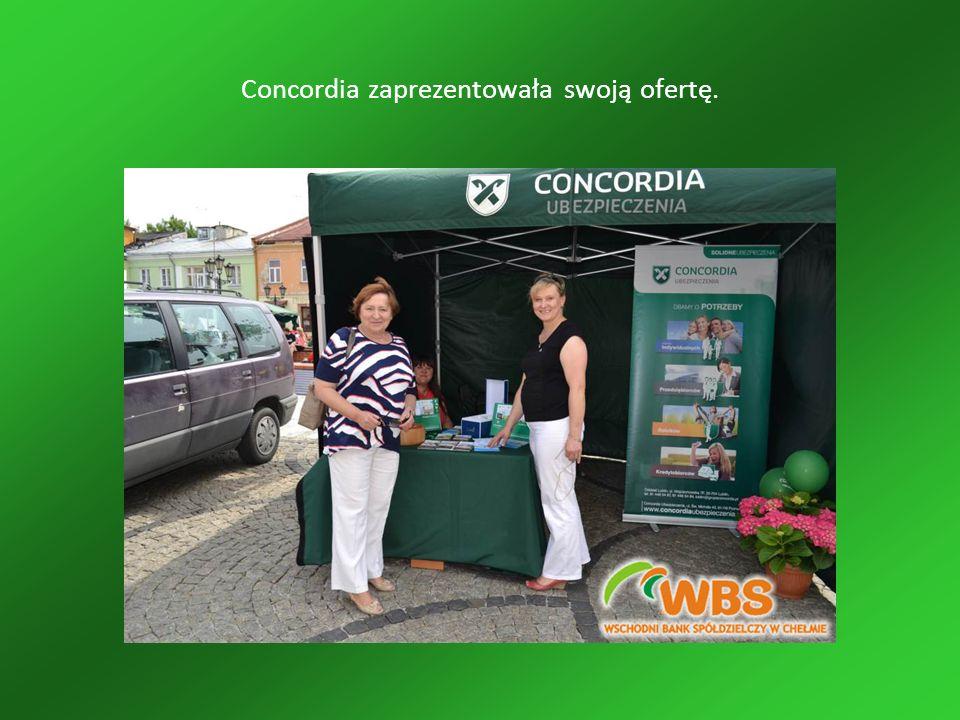 Concordia zaprezentowała swoją ofertę.