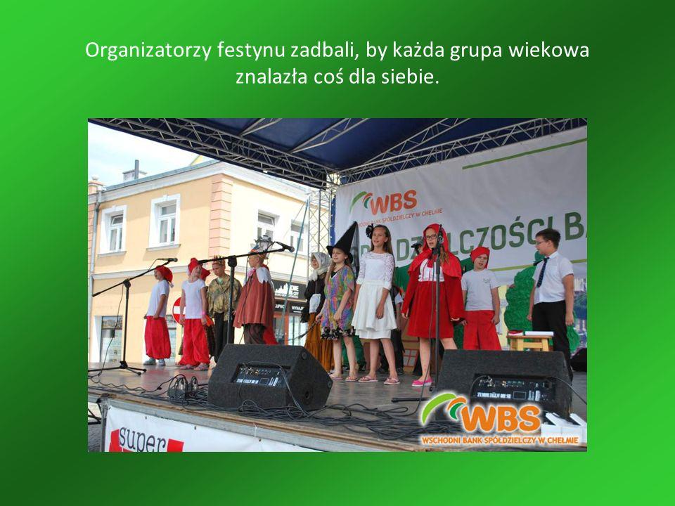 Organizatorzy festynu zadbali, by każda grupa wiekowa znalazła coś dla siebie.