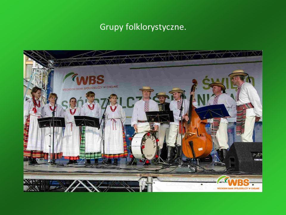 Grupy folklorystyczne.