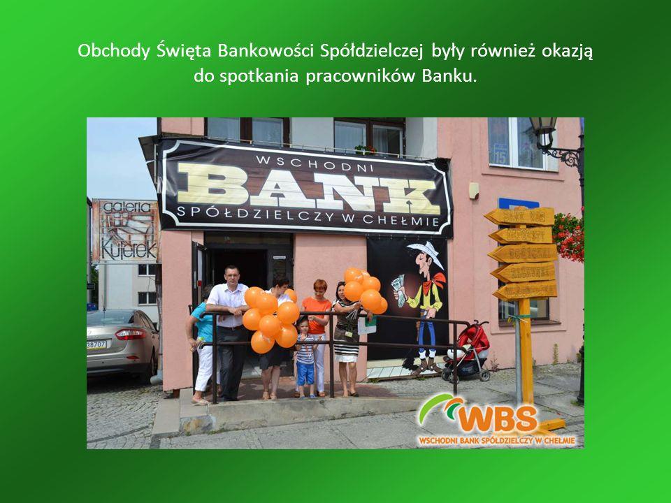Obchody Święta Bankowości Spółdzielczej były również okazją do spotkania pracowników Banku.