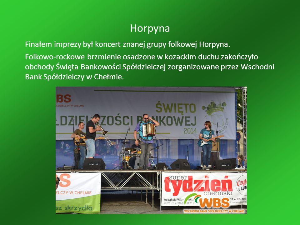 Horpyna Finałem imprezy był koncert znanej grupy folkowej Horpyna.