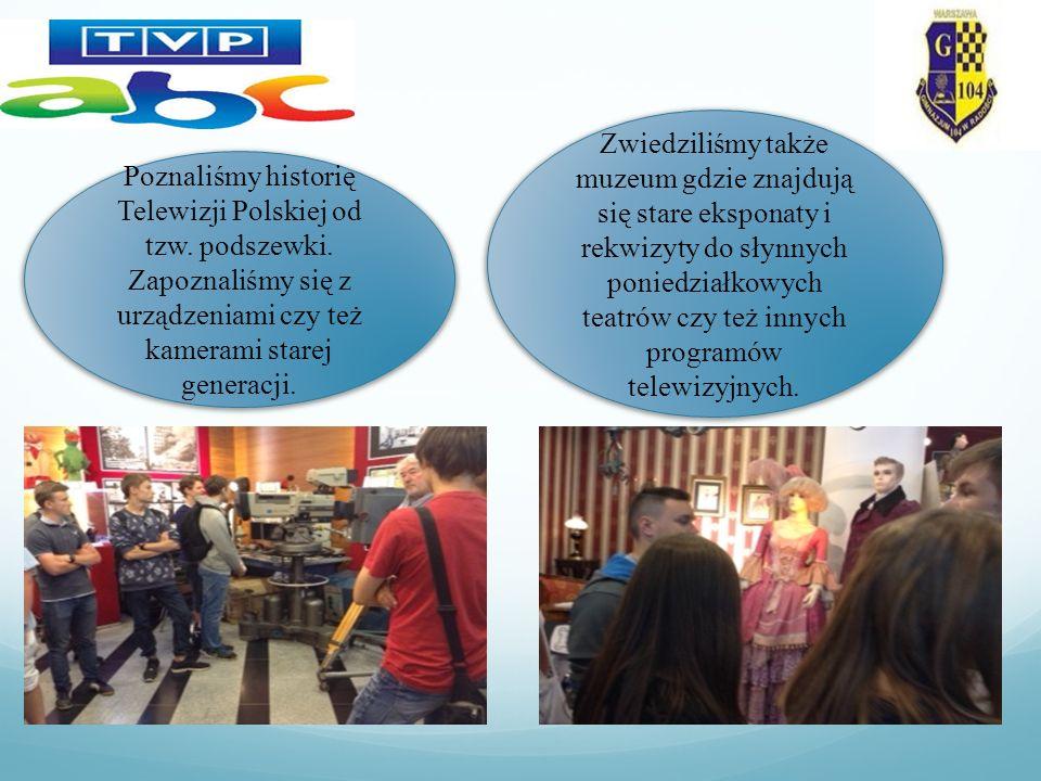 Poznaliśmy historię Telewizji Polskiej od tzw. podszewki.