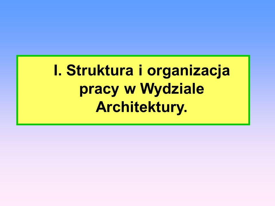 1) Struktura Wydziału Architektury ujęta w Regulaminie Organizacyjnym Starostwa Powiatowego w Białymstoku : - Dyrektor - Zastępca Dyrektora - Pracownicy Wydziału