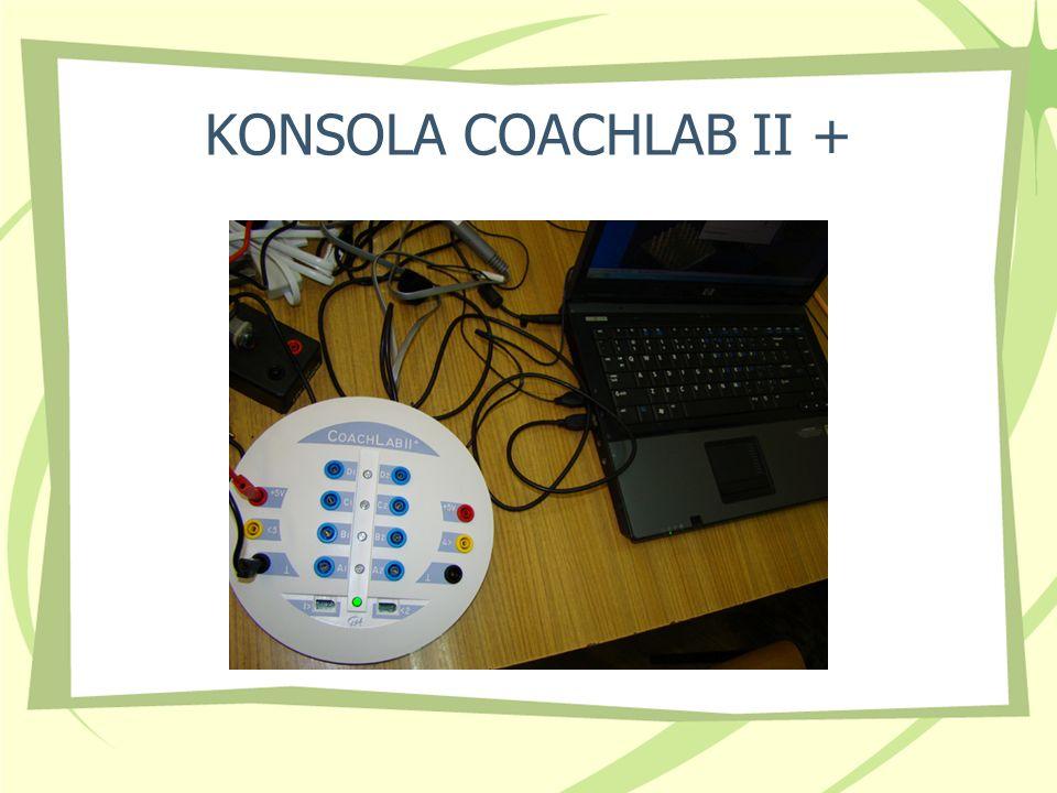 KONSOLA COACHLAB II +