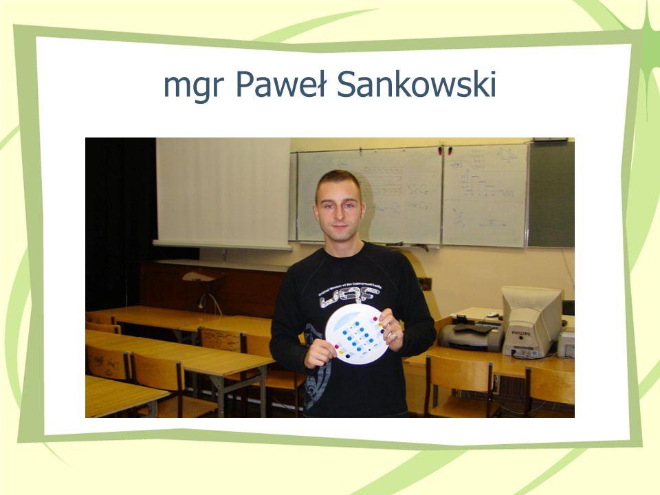 mgr Paweł Sankowski