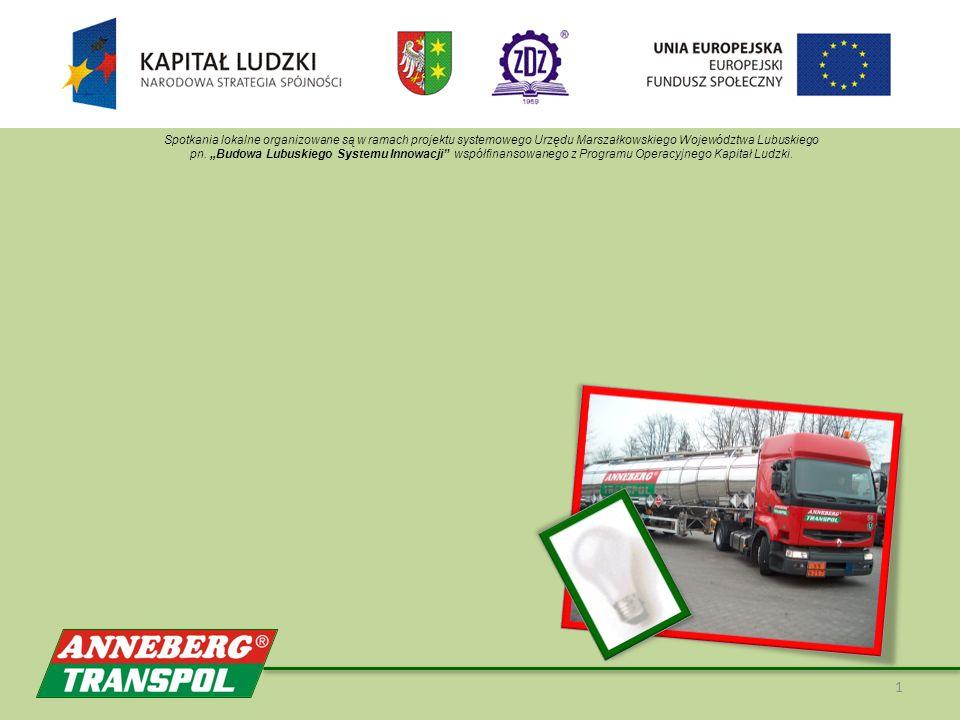 1 Spotkania lokalne organizowane są w ramach projektu systemowego Urzędu Marszałkowskiego Województwa Lubuskiego pn.