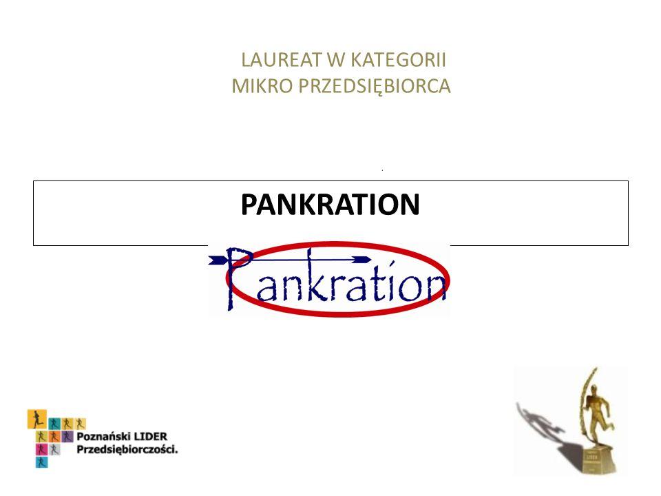 PANKRATION LAUREAT W KATEGORII MIKRO PRZEDSIĘBIORCA