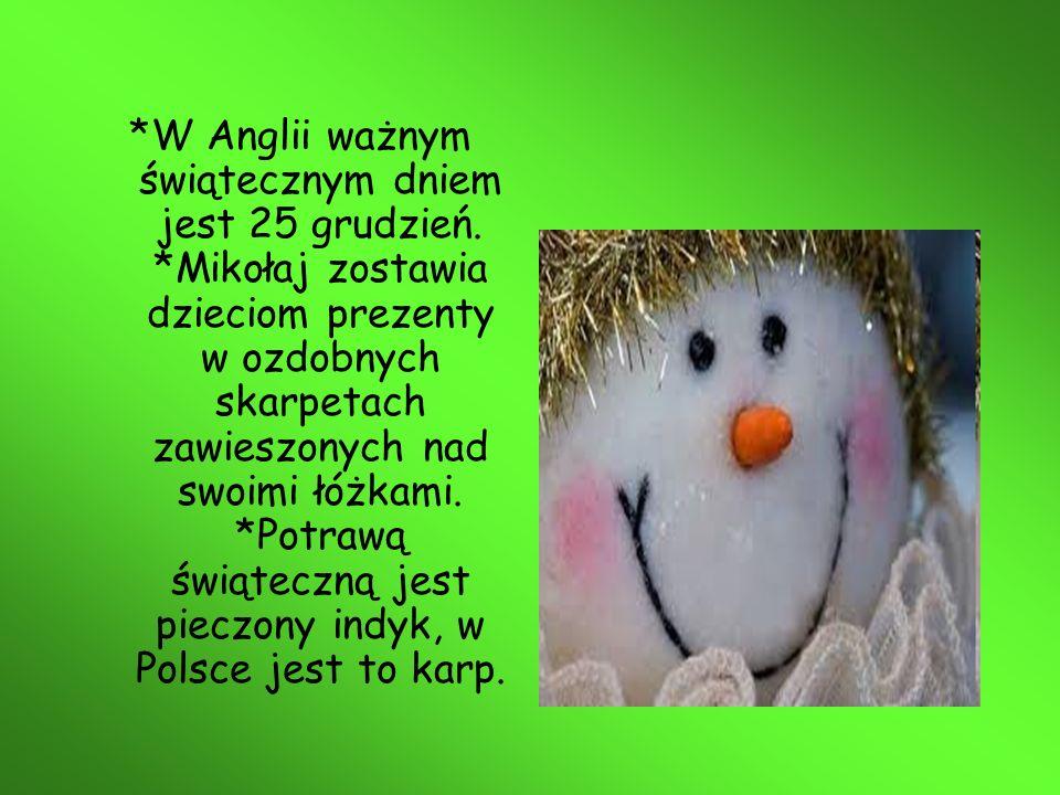 W Polsce oraz Anglii tradycją jest wysyłanie sobie kartek świątecznych lub sms z życzeniami świątecznymi.