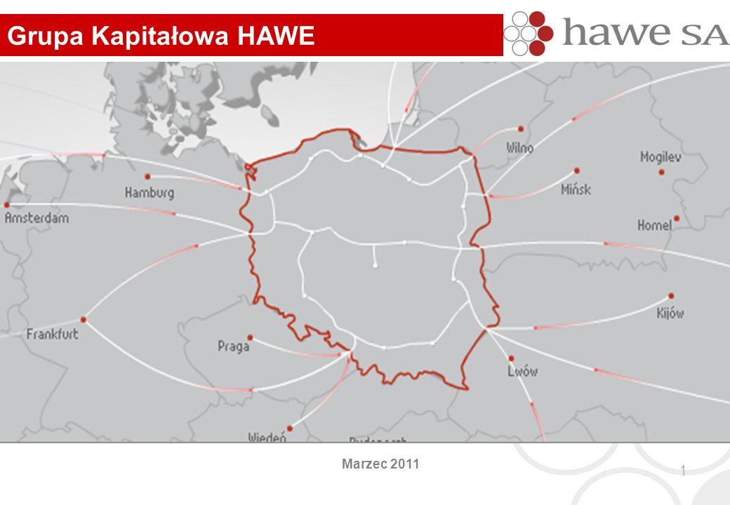 Marzec 2011 Grupa Kapitałowa HAWE 1