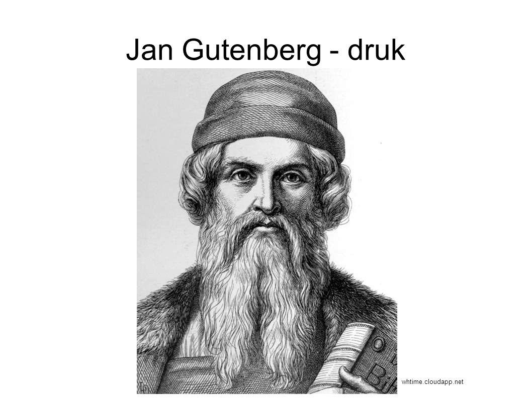 Jan Gutenberg - druk whtime.cloudapp.net