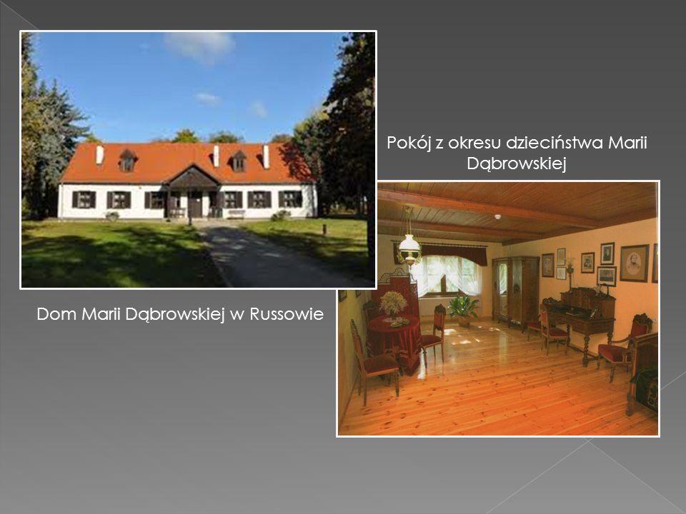 Pokój z okresu dzieciństwa Marii Dąbrowskiej Dom Marii Dąbrowskiej w Russowie