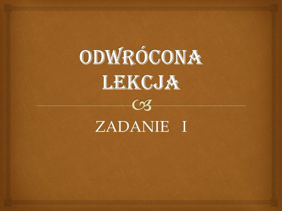  Temat zajęć : Warszawa – stolica Polski