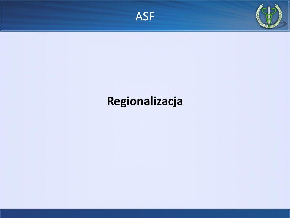 Regionalizacja ASF