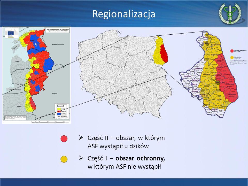 Sytuacja epizootyczna w Europie ASF