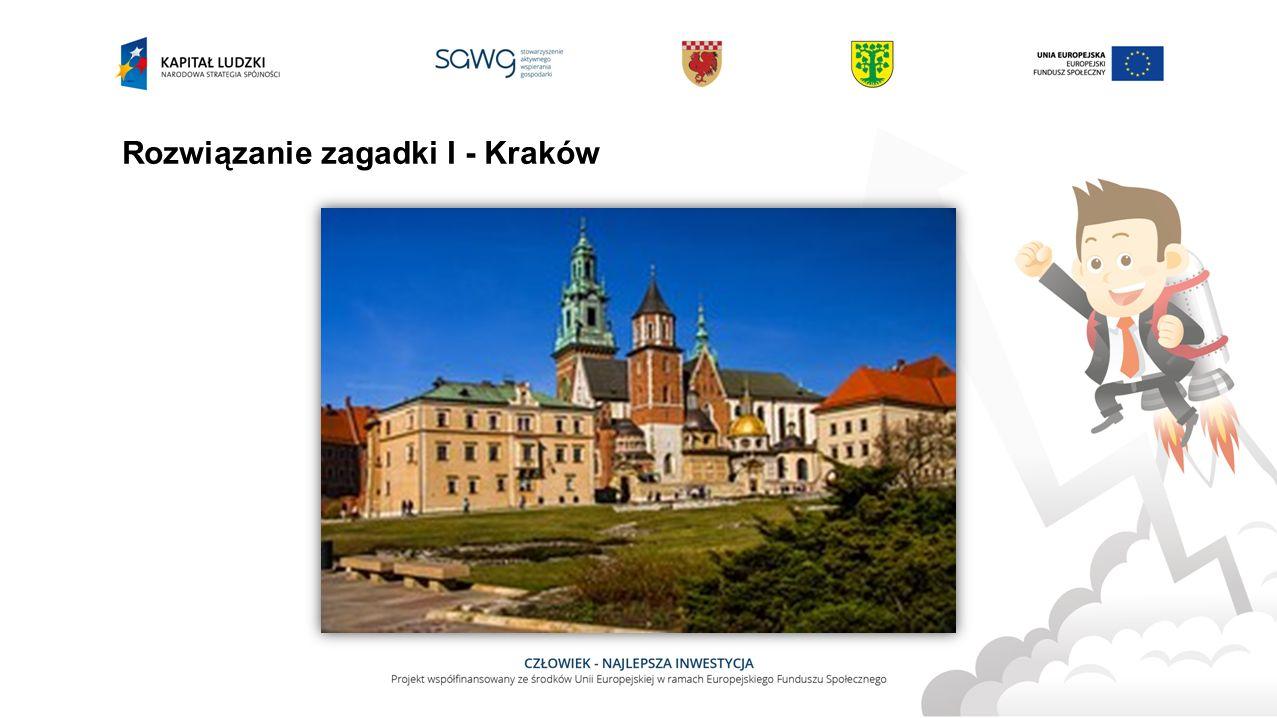 Zagadka II Symbolem tego polskiego miasta są koziołki. Jest stolicą Wielkopolski.