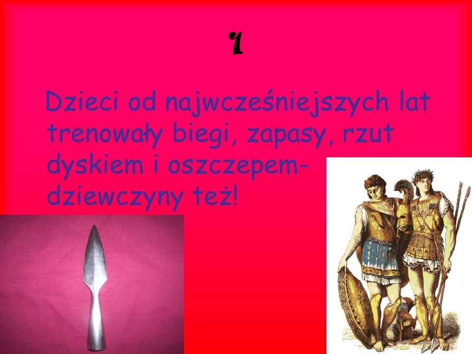 2 Podczas procesji, tańców i obrzędów religijnych dziewczyny musiały występować tak jak je Zeus stworzył.
