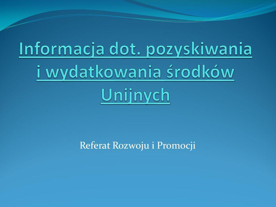 Referat Rozwoju i Promocji