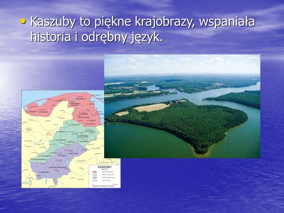 Kaszuby to piękne krajobrazy, wspaniała historia i odrębny język.