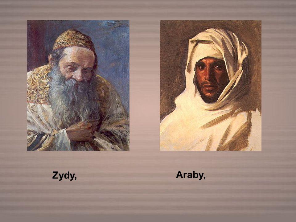Zydy, Araby,
