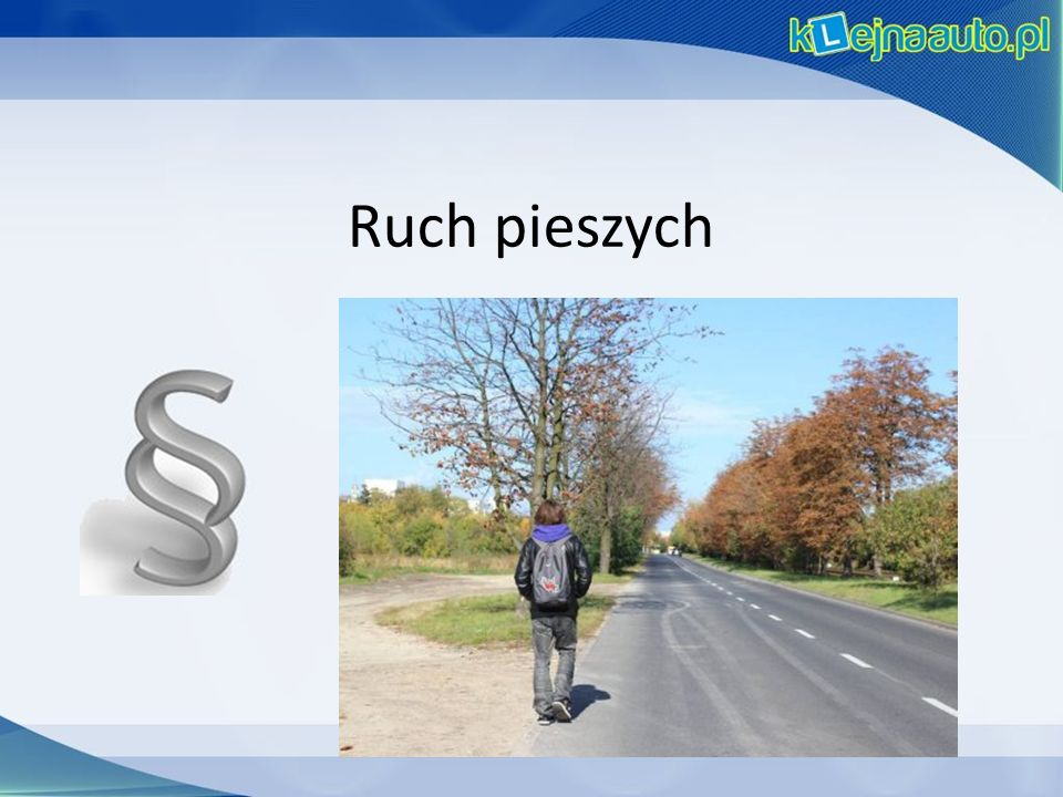Ruch pieszych