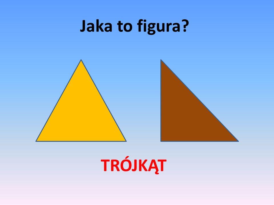 Wskaż wszystkie trójkąty