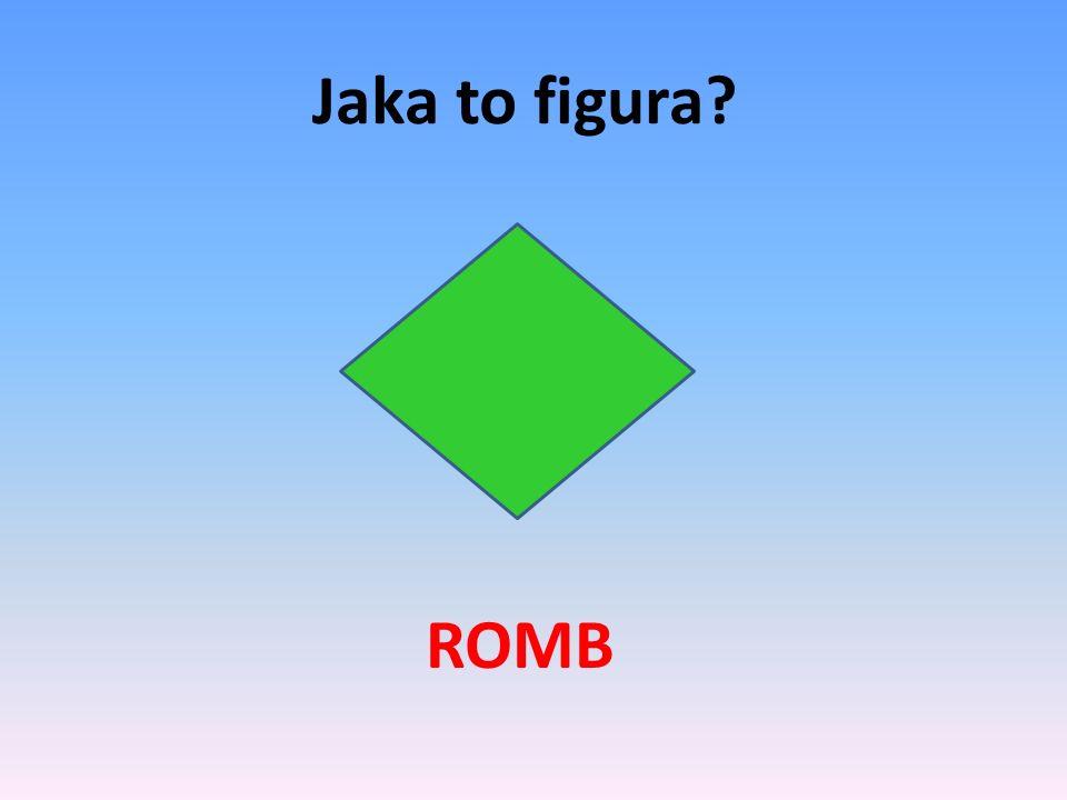 Jaka to figura? RÓWNOLEGŁOBOK