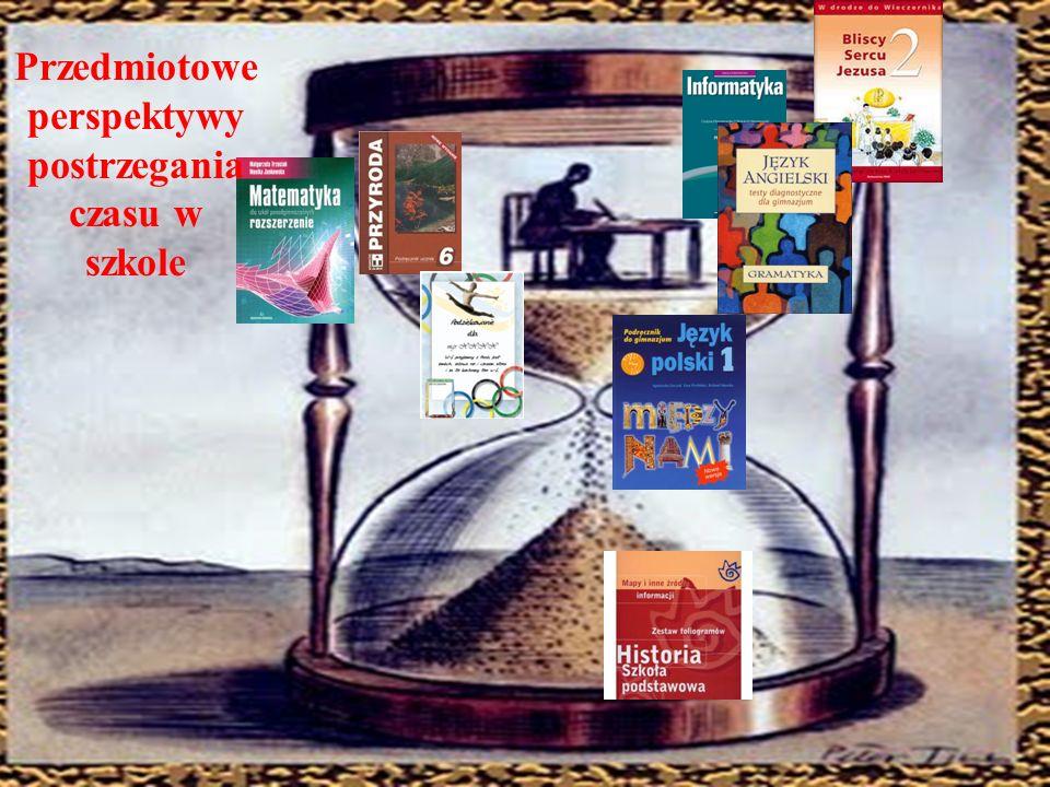 Perspektywa czasowa Skrócony opis Negatywna przeszłość Skłonność do interpretowania i rozmyślania o teraźniejszości poprzez generalnie nieprzyjazny, nieszczęśliwy pryzmat przeszłości Pozytywna przeszłość Skłonność do interpretowania i rozmyślania o teraźniejszości poprzez ciepły i sentymentalny pryzmat przeszłości Fatalistyczna teraźniejszość Skłonność do interpretowania i rozmyślania o teraźniejszości poprzez bezradny i pozbawiony nadziei stosunek do życia, który jest uwarunkowany przekonaniem o braku wpływu na własny los Hedonistyczna teraźniejszość Skłonność do spędzania czasu rozmyślając i interpretując teraźniejszość przez hedonistyczny, ryzykowny i lekkomyślny pryzmat życia PrzyszłośćSkłonność do interpretowania i rozmyślania o teraźniejszości poprzez cele i nagrody do osiągnięcia