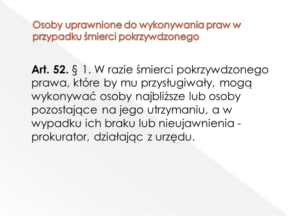 Art. 52. § 1.