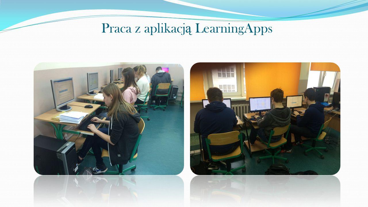 Praca z aplikacj ą LearningApps