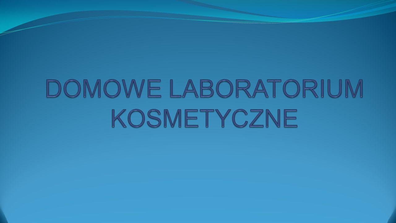 """Od początku roku szkolnego, w każdą środę na kółku chemicznym u Pani Magdy Banach, odbywał się eksperyment pod tytułem """"Domowe laboratorium kosmetyczne ."""