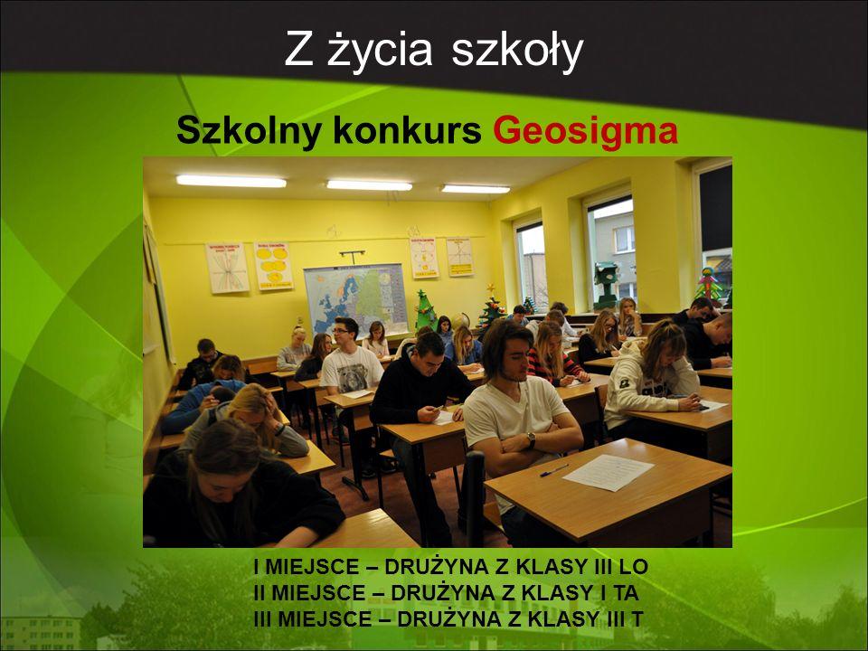 Z życia szkoły