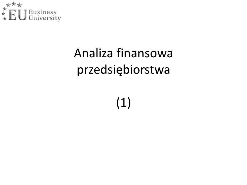 Analiza finansowa przedsiębiorstwa (1)