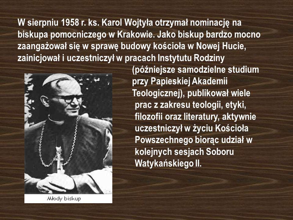 Kilka dni później ks. Karol Wojtyła wyjechał na dalsze studia do Rzymu. Po powrocie do kraju jego pierwszą parafią była mała miejscowość Niegowić koło