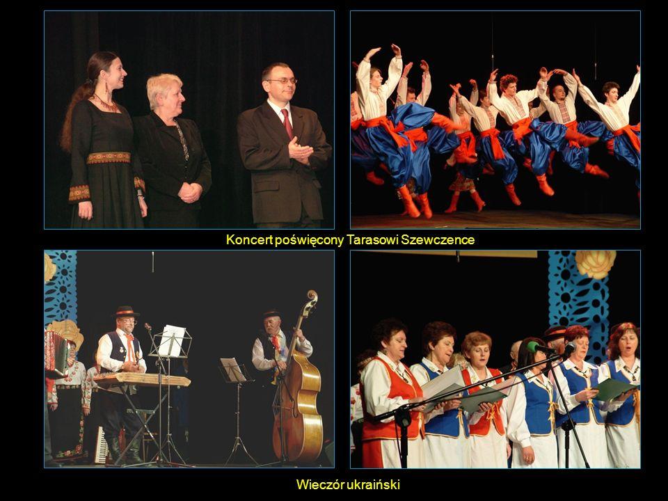 Wieczór ukraiński Koncert poświęcony Tarasowi Szewczence