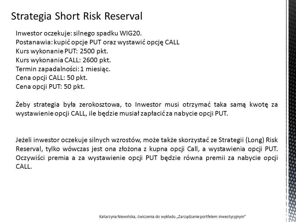 Inwestor oczekuje: silnego spadku WIG20.