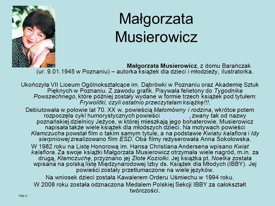 KŁAMCZUCHA Maryla Szwałek