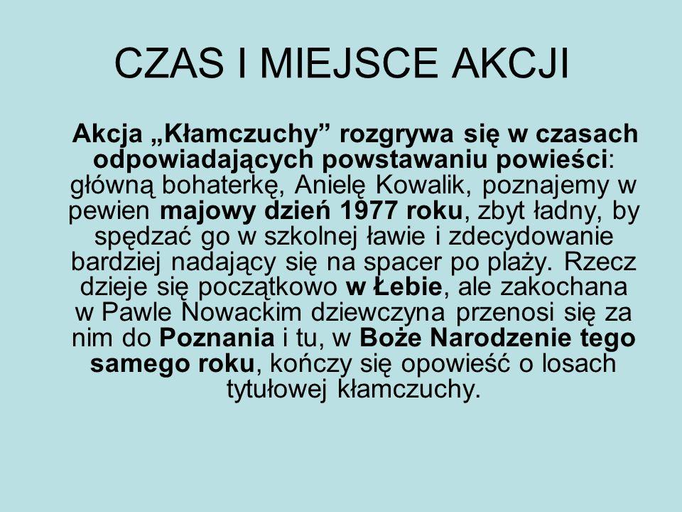 Rodzina Kowalików - stryj Mamert - 33-letni chirurg, kuzyn ojca Anieli, Teofila - jego żona, pianistka, pięcioletnia Romcia i sześć i pół-letni Tomcio.