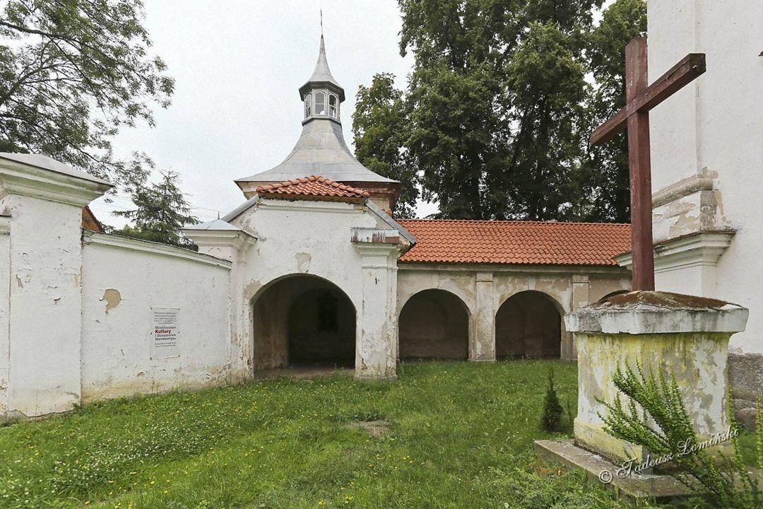 Kościół planowany był jako pielgrzymkowy więc w latach 1820÷1836 r.